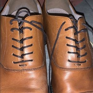 Banana Republic Leather Oxford Shoes